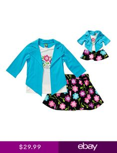 Dollie and Me 12 14   18 doll matching dress outfit clothes fit american  girl 315b7182a