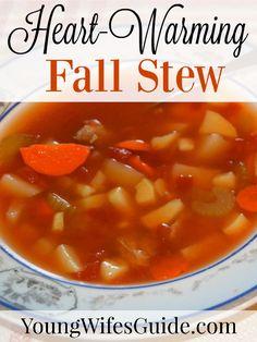 This stew is a wonde