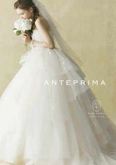 Ball Gown Wedding Dresses For Bride : 必ず試着しておきたいみんなに人気のご指名ウェデ White Wedding Gowns, Colored Wedding Dresses, Wedding Bride, Bridal Dresses, Flower Girl Dresses, Beautiful Bride, Beautiful Dresses, Bridal Shoot, Bridal Style
