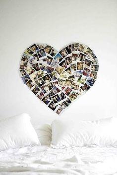 Lasst eure Lieblingsfotos nicht auf der Festplatte in Vergessenheit geraten. Bastelt lieber eure eigene Bilder-Deko!