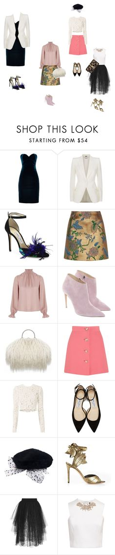 """""""Cute Outfits I Can't Afford"""" by lavender-lace ❤ liked on Polyvore featuring Emilio De La Morena, Alexander McQueen, Jimmy Choo, River Island, Related, Ralph Lauren, Miu Miu, A.L.C., Vivienne Westwood and Elie Saab"""