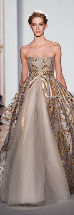 Zuhair Murad Spring Summer 2013 Haute Couture - Paris #empire