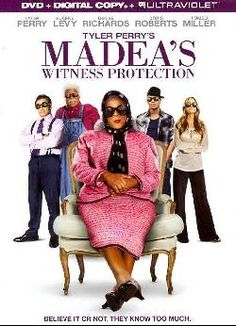 Tyler Perry's Madea's Witness Protection (DVD)lol