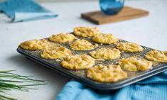 Mac and cheese-muffins med svenske kjøttboller   EXTRA