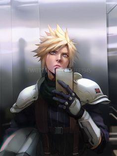 Hinata, Sora Kingdom Hearts, Tifa Lockhart, Final Fantasy Vii, Cloud Strife, Instagram, Princess Zelda, Clouds, Artist