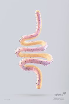 "I WAS going to eat a donut this morning........ but that ""donut"" looked way too much like somebody's intestine!"