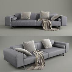 Sofa2 3D Model | Download Royalty Free Interior Furniture 3D Models - 3D Squirrel