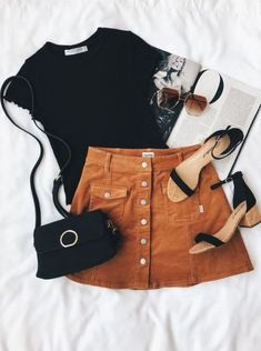 19 Fashionable outfit Ideas for the school - Stil Mode - Women in Uniform Look Fashion, Teen Fashion, Autumn Fashion, Fashion Outfits, Womens Fashion, Fashion Trends, Fashion Clothes, Fashion Ideas, Ladies Fashion