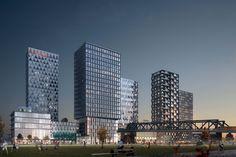 COBE Designs Masterplan for New Urban Center in Berlin,© Luxigon