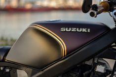 Suzuki Cafe Racer, Cafe Racer Build, Gs500, Scrambler, Custom Bikes, Motorbikes, Riding Helmets, Motorcycles, Cars