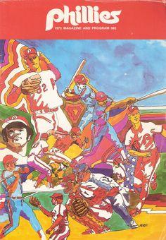 1973 Philadelphia Phillies program. Steve Carlton.
