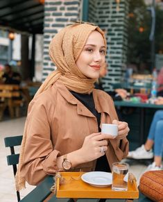 Modern Hijab Fashion, Muslim Fashion, Modest Fashion, Fashion Outfits, Womens Fashion, Kebaya Hijab, Casual Hijab Outfit, Muslim Hijab, Anarkali Dress