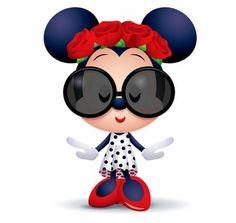 Cute and kawaii Disney illustrations by Jerrod Maruyama ! Disney Babys, Baby Disney, Disney Mickey, Disney Art, Arte Do Mickey Mouse, Minnie Mouse Drawing, Kawaii Disney, Cute Cartoon Pictures, Cartoon Pics