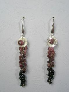 Tourmaline bunch Diy Earrings, Jewelry, Fashion, Tes, Jewellery Making, Jewlery, Jewelery, Fashion Styles, Earrings Crafts
