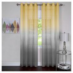 Achim Rainbow Single Grommet Curtain Panel : Target