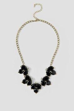 Galinda Jeweled Statement Necklace $24.00