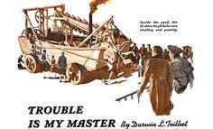 """Anfíbios - Foto 1 """"Bisavô"""" dos anfíbios modernos foi construído pelo americano Oliver Evans baseado em barcos convencionais com um motor a vapor Motor A Vapor, Amphibious Vehicle, Evans, Darwin, 1, Image, Animals, Boats, Pictures"""