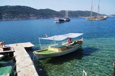 Enjoy a #boat ride in #Simena  - The Lycian Way #Turkey