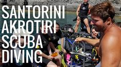 Hi and Welcome to my scuba video. We did go to a nice bay in Akrotiri area and also I went into some sc. Santorini 2017, Scuba Diving, Diving