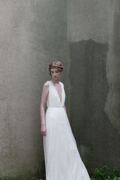 I don't have to be a bride to wear this do I ? Dreamy!!! Helena Gown - Alexandra Grecco Bridal