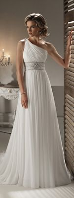 1000 ideas about goddess wedding dresses on pinterest