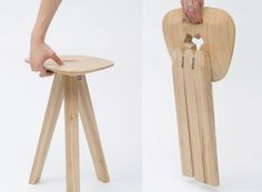 Three-leg Folding Stool | Mag Mire