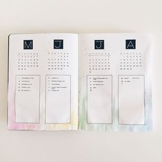 Bullet Journal future log simple et efficace
