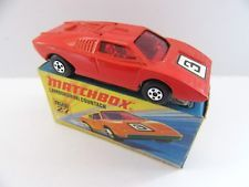 Matchbox Superfast 27b Lamborghini Countach - RED No.3 - Mint/Boxed