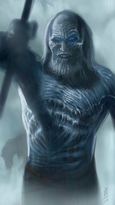 White Walker - Game of Thrones - Kelvin Chan