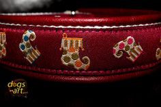 dogsart STOCKING Martingale Leather Collar  by dogsartcollars, $32.00