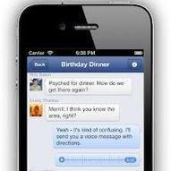 Etude : les usages Facebook sur mobile