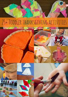 25 Toddler Thanksgiving Activities - Kids Activities Blog