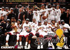 NBA Finals 2013: Miami Heat retains title; defeat San Antonio Spurs | http://allanistheman.blogspot.com/