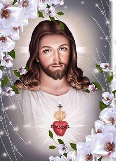 Catholic Pictures, Pictures Of Jesus Christ, Jesus Art, God Jesus, Mother Mary Images, Image Jesus, Christ Tattoo, Jesus Photo, Jesus Wallpaper