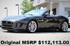 2016 Jaguar F-Type R Convertible 2016 Black Berry R Convertible Auto AWD V8 Supercharged 550HP Like New Perfect