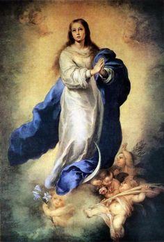 Ó Deus, que pela Imaculada Conceição da Bem-Aventurada Virgem Maria, fez preparar um digna morada para o seu Filho, nós te pedimos que, tal como com a morte prevista a isso, Seu Filho, você fez preservar sua de toda mancha, assim também você poderia nos permitir, ...