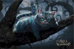 Chester Cat Alice in Wonderland | alice-in-wonderland-cheshire-cat-branches-movie-poster-TR6185