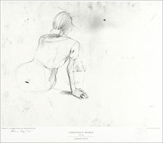 Sketch for Christina's World by Wyeth  Google Image Result for http://haynesgalleries.com/hgSite/images/artistImages/andrewWyeth/drawingPortfolio/andrewWyeth-Christina%27sWorld.jpg