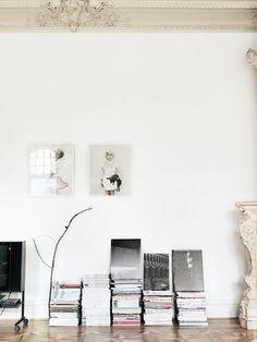 minimal decor. i like the simple branch