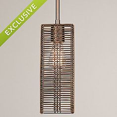 Downtown Mesh Pendant by Hammerton Studio
