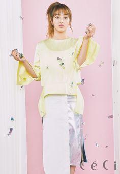 Jihyo (Twice) - Céci Magazine April Issue '17