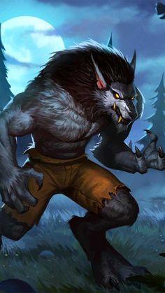 Mythological Creatures, Mythical Creatures, Dark Fantasy, Fantasy Art, Female Werewolves, Werewolf Art, Fantasy Portraits, Anime Wolf, Anthro Furry