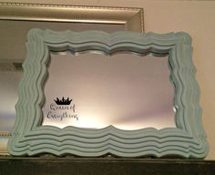 Finished Mirror - American Decor Chalky Finish Paint | Queen of Everything