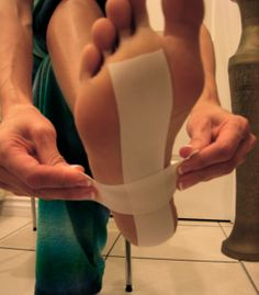 Taping for planter fasciitis