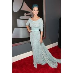 Katy Perry The 54th Annual GRAMMY Awards in Los Angeles ❤ liked on Polyvore featuring katy и katy perry