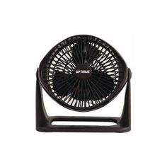 * Super Turbo High Performance Fan* Very Powerful 3 Speed Motor* Contemporary Euro-Design Styling* Variable Tilt Fan Head Pivots 90 Degree for Use as an Air Circulator* Carrying Handle and Wall Mount Feature* Color: Black* cETLus Listed