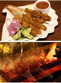 47% OFF Pork Satay (8 sticks) Grilled over Hot Charcoals with Satay Sauce + Cucumber + Onion Salad (1 pax) @ Ristretto Café (Mont Kiara) for only RM9.90 instead of RM18.56!