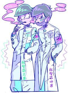 Osomatsu-san- Choromatsu and Ichimatsu #Anime「♡」Pastel