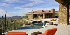 luxury pools | Luxury Hillside Estate, pool and views