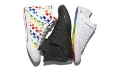 The new Converse limited-edition Pride range